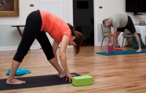 Yoga session at Cumberland Village