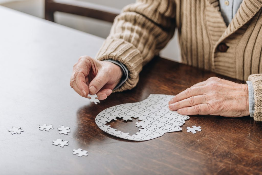 putting puzzle togerther